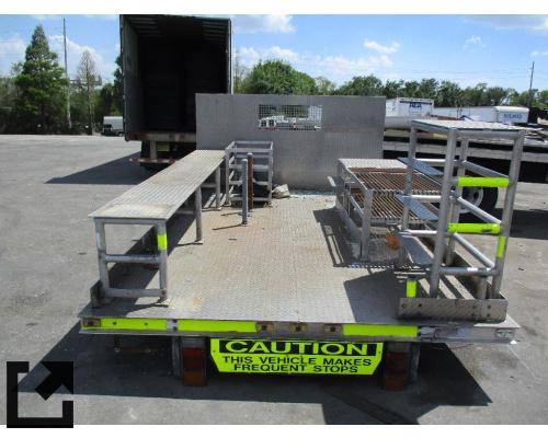 FLATBED W3500 TRUCK BODIES,  BOX VAN/FLATBED/UTILITY