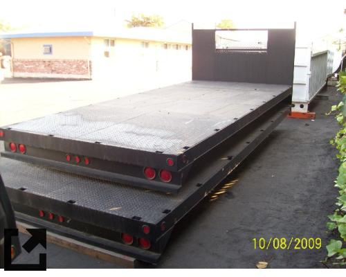 FLATBED  TRUCK BODIES,  BOX VAN/FLATBED/UTILITY