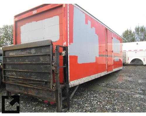BOX VAN MORGAN TRUCK BODIES,  BOX VAN/FLATBED/UTILITY