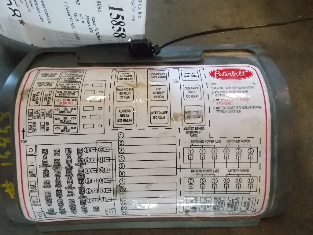 Peterbilt 388 Fuse Box - Fusebox and Wiring Diagram device-allow -  device-allow.parliamoneassieme.itdiagram database