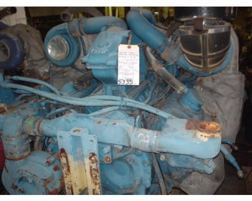 DETROIT 12V92T ENGINE ASSEMBLY TRUCK PARTS #273801