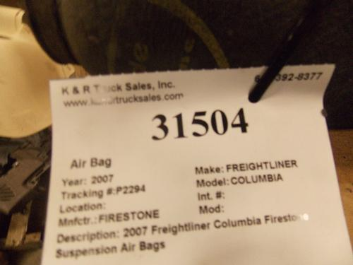 FIRESTONE COLUMBIA Air Bag (Safety)