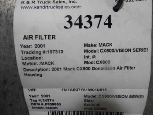 MACK CX600/VISION SERIES Air Cleaner