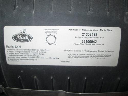 MACK CXN613 Air Cleaner