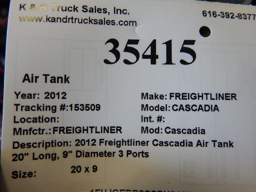 FREIGHTLINER Cascadia  Air Tank