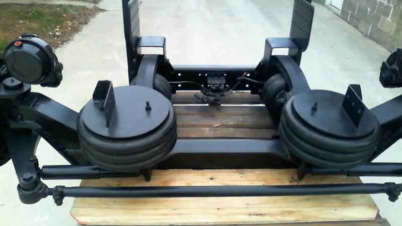 HENDRICKSON 20,000 lb Steerable Lift Axle Assembly Axle Assembly, Front  (Steer)