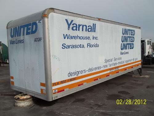 BOX VAN C6500 Body / Bed