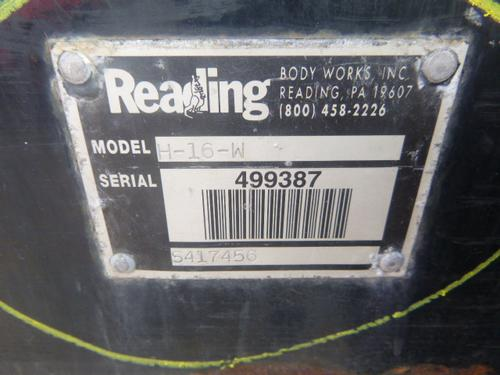 BOX VAN READING Body / Bed