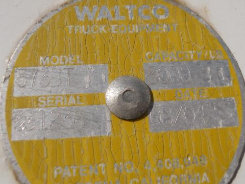 Railgate Waltco Body / Bed