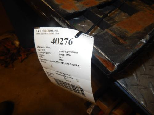 KENWORTH T700 Brackets, Misc.