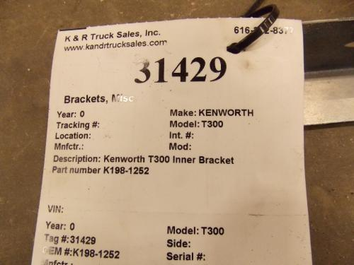 KENWORTH T300 Brackets, Misc.