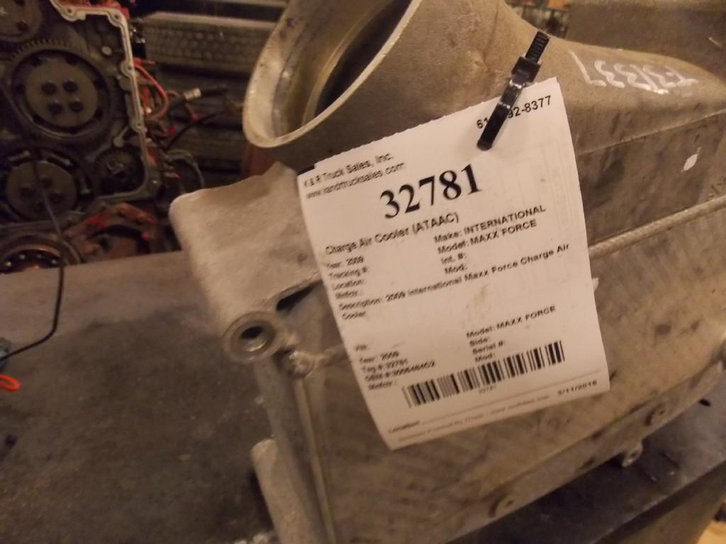 INTERNATIONAL MAXX FORCE Charge Air Cooler (ATAAC) #32781 - For sale ...