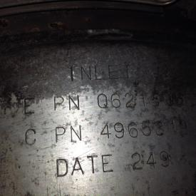 CUMMINS ISX DPF (Diesel Particulate Filter)