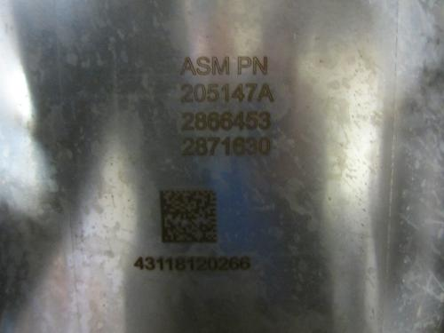 FORD F750 DPF (Diesel Particulate Filter)