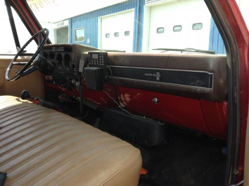 CHEVROLET C70 Dash Assembly