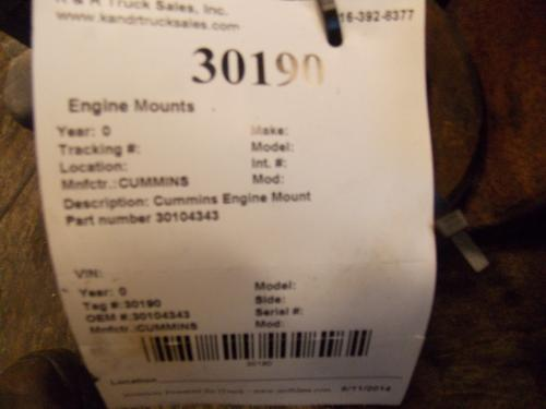 CUMMINS  Engine Mounts