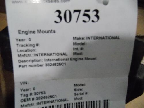 INTERNATIONAL  Engine Mounts