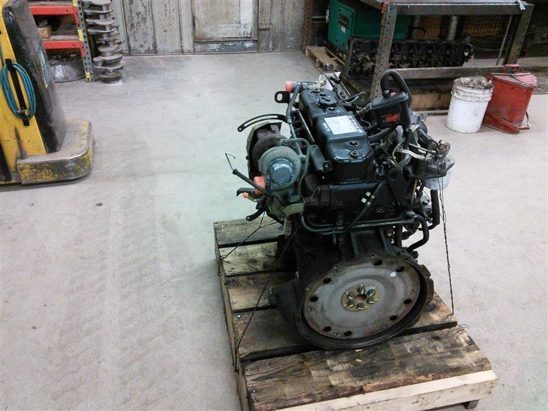 1996 ISUZU 4BD2T Engine Assembly