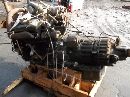 DETROIT 6V92T-SLVR Engine Assembly