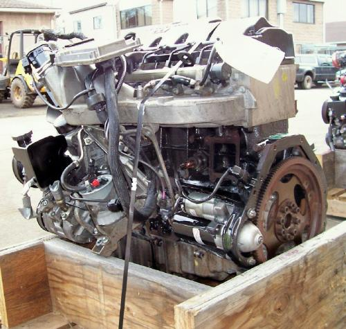 Mercedes OM 647 LA Engine Assembly