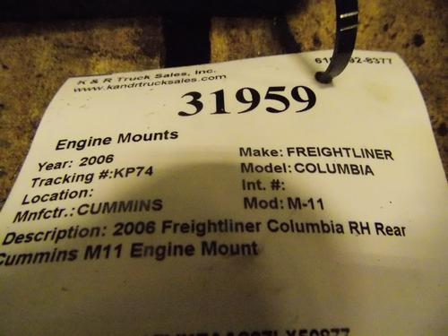 CUMMINS M-11 Engine Mounts