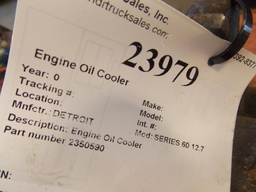 DETROIT SERIES 60 12.7 Engine Oil Cooler