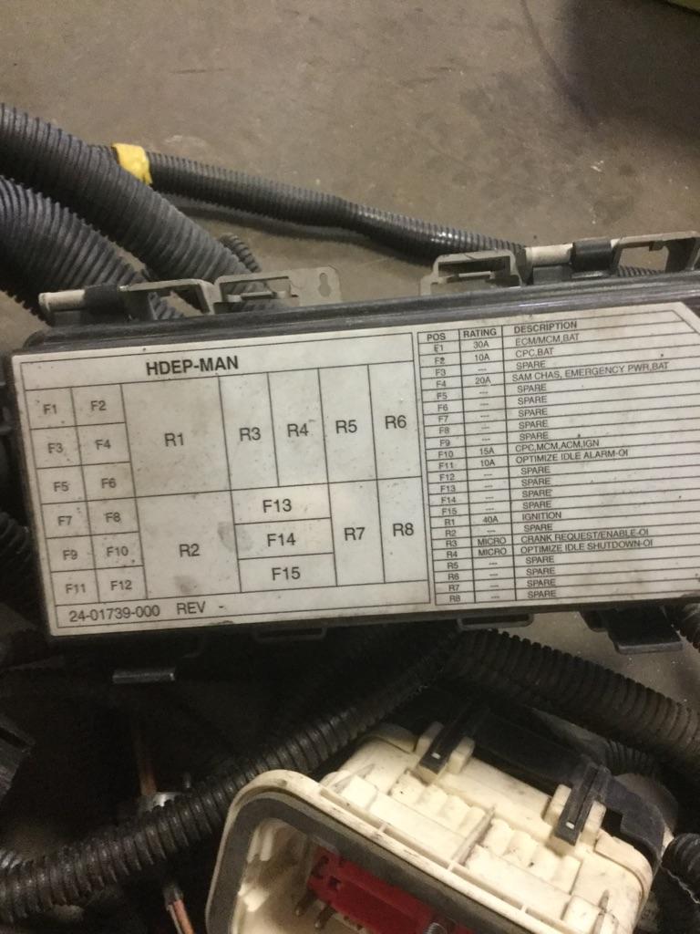 Detroit Dd13 Engine Wiring Harness 1501948 For Sale At Spokane Optimization