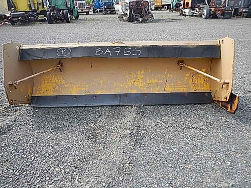 Cote OH404 snow plow Equipment (Mounted)