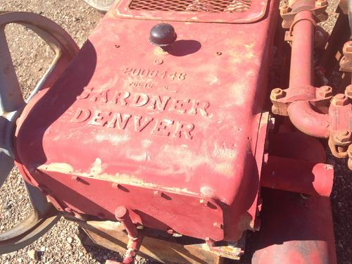 GARDNER DENVER  Equipment (Mounted)