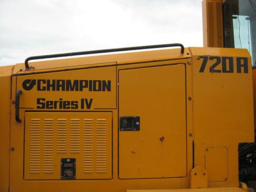 Champion 720-A  (Series IV) Equipment (Mounted)