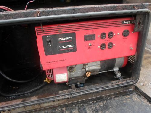 GENERATOR ELECTRIC Equipment (Mounted)