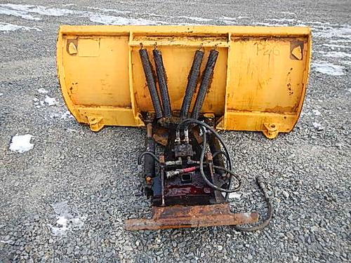 Trackless Plow blade attachment Equipment (Mounted)