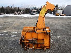 Trackless Snow blower attachment Equipment (Mounted)