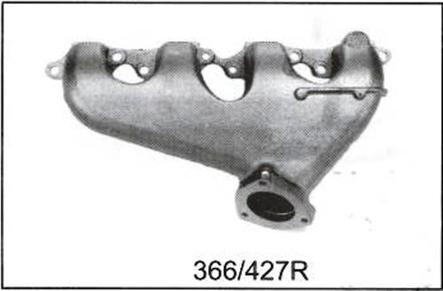 GM 366 Exhaust Manifold