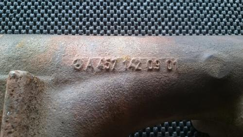 Mercedes MBE4000 Exhaust Manifold