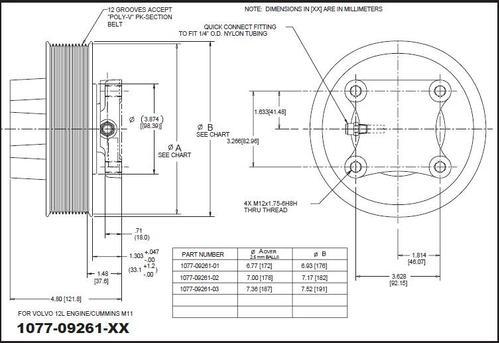 fan clutch wiring diagram volvo ved12-kysor_1077-09261-02 fan clutch #11321 - for ... kysor fan clutch wiring diagram
