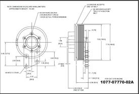 CAT C12-Kysor_1077-07770-02A Fan Clutch