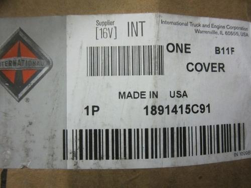 INTERNATIONAL DT466E Front Cover