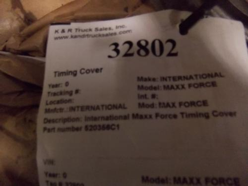INTERNATIONAL MAX FORCE Front Cover