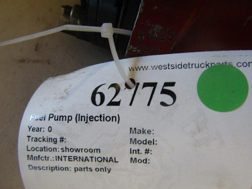 INTERNATIONAL  Fuel Pump (Injection)