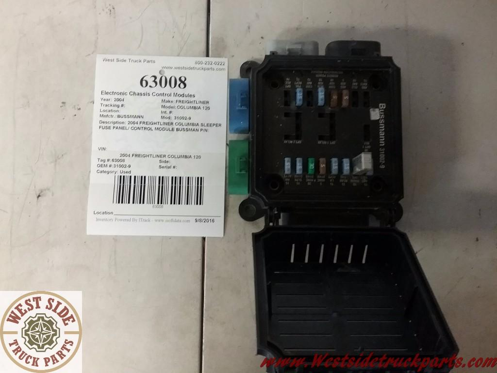 FREIGHTLINER COLUMBIA 120 Fuse Box