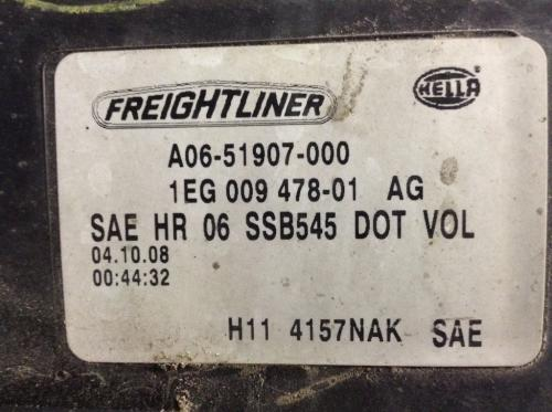 FREIGHTLINER CASCADIA Headlamp Assembly