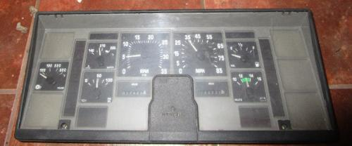 INTERNATIONAL  Instrument Cluster