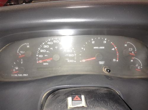 FORD FORD F550SD PICKUP Instrument Cluster