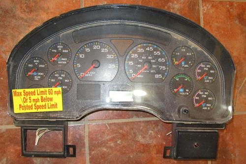 INTERNATIONAL 3576990C96 Instrument Cluster
