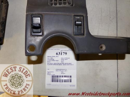 STERLING L9513 Interior Parts, Misc.