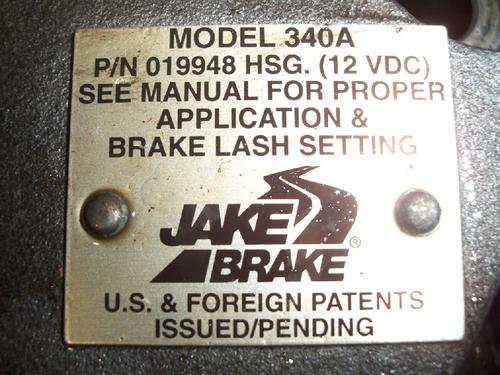 CAT 3406E 14.6L Jake/Engine Brake
