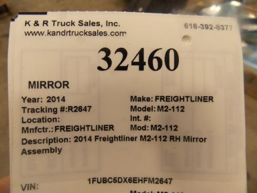 FREIGHTLINER M2-112 Mirror (Side View)