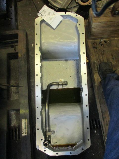 CUMMINS ISM EGR Oil Pan