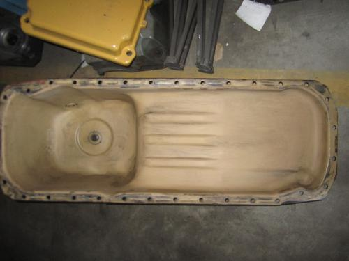 CUMMINS ISM-330E Oil Pan